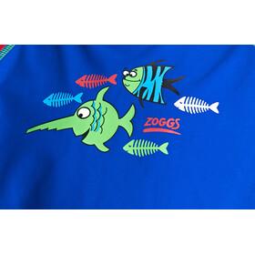 Zoggs Sea Saw Sun Top manga larga con cremallera Niños, blue